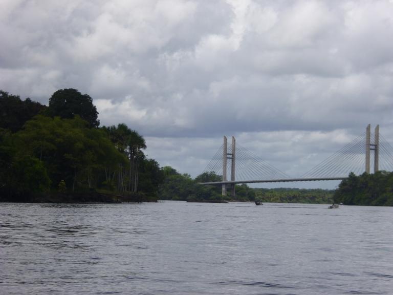Pont sur l'Oyapock